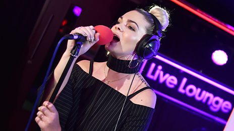 Live Lounge - Louisa Johnson