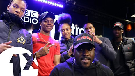 Kenny Allstar w/Poundz, Berna, Dis & Lil M Dot. on BBC 1Xtra