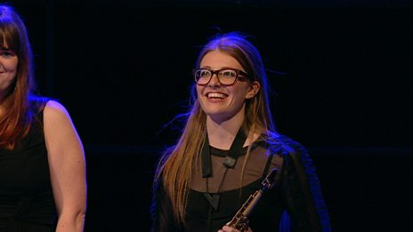 A second clip of the fantastic Jess Gillam performing at the Choir of the Year 2016 final.