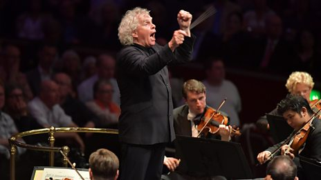 Sir Simon Rattle on orchestras and fine wines