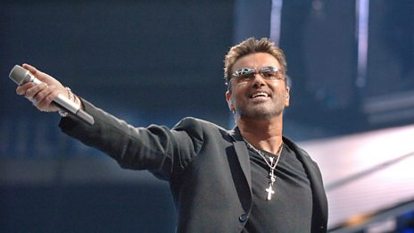 George Michael talking in 2014 about working with Aretha Franklin