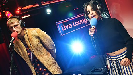 Live Lounge - Machine Gun Kelly and Camila Cabello