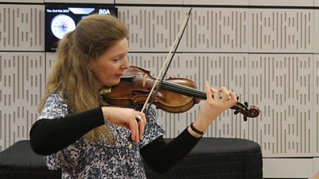Serene violin/cello: Rachel Podger plays Bach live on In Tune