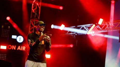 Live Lounge - Skepta at Big Weekend