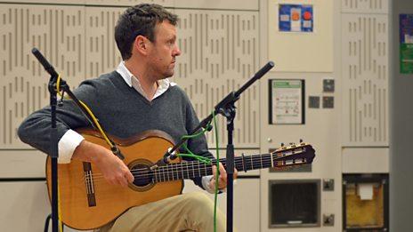 Listen to Derek Gripper in session for World on 3