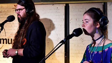 Watch Matthew E White & Flo Morrissey perform Grease in the 6 Music Live Room (yes, the title song from that classic film)