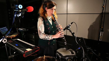 Watch Anna Meredith perform Taken in the 6 Music Live Room