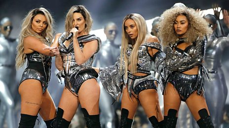 How did Little Mix tackle their pre-Brits performance nerves?