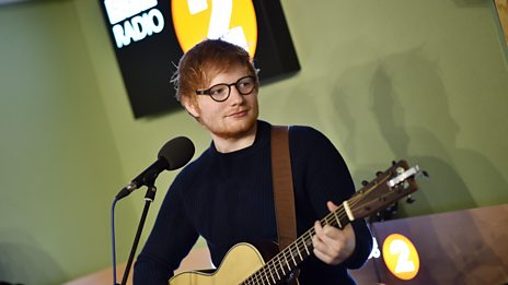 Ed Sheeran covers David Gray's This Year's Love in the Radio 2 Breakfast Show studio