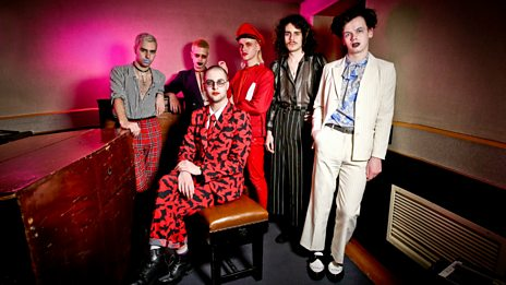 HMLTD in session from Maida Vale