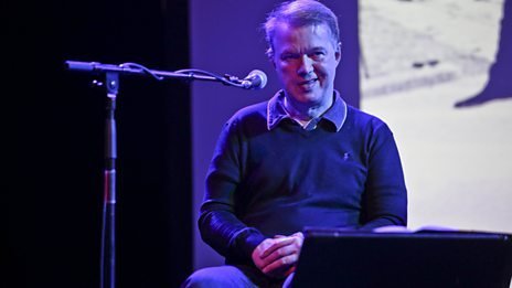Edwyn Collins in conversation with Stuart Maconie at the 6 Music Festival