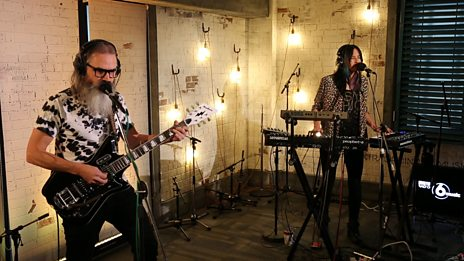 Watch Moon Duo cover Iggy & The Stooges in the 6 Music Live Room