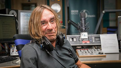Iggy Pop chats to Mary Anne Hobbs