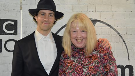 Liz was joined by Paul from Maximo Park