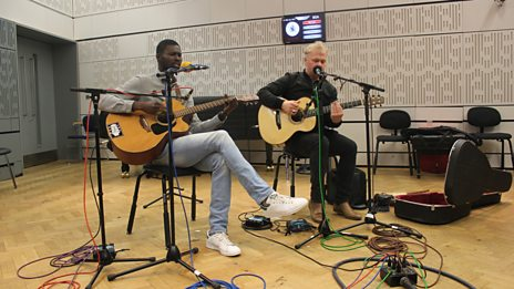 Listen to Ramon Goose and Modou Toure in session for World on 3