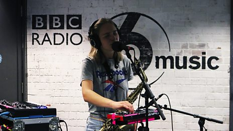 Laura Misch live from the 6 Music Hub