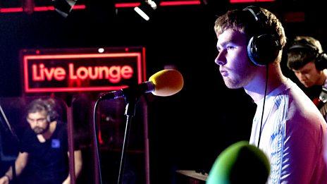 Live Lounge - Mura Masa