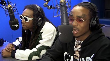 Migos - The World's Hottest Rap Group on 1Xtra