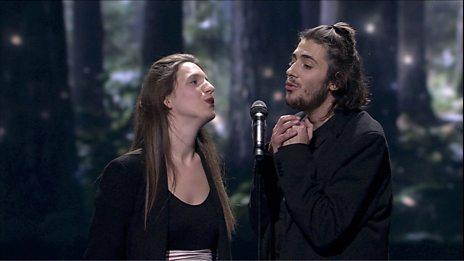 Winner Salvador Sobral (Portugal) performs 'Amar Pelos Dois'