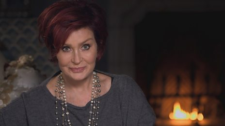 Sharon Osbourne at Robert Stigwood's offices.