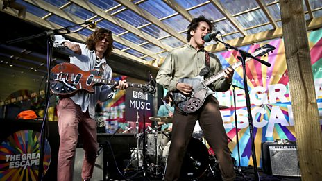 The Districts play live at The Great Escape
