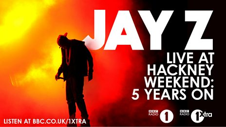 Jay Z performs live at Radio 1's Big Weekend