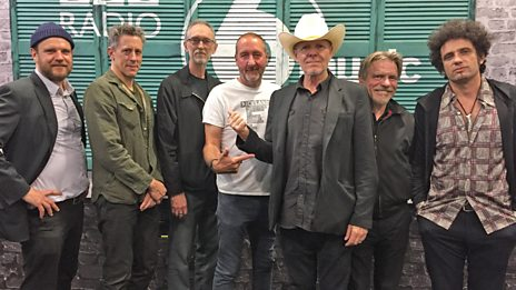 Swans in session for Marc Riley
