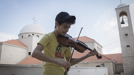 From Oxford to Lebanon: historic violin loaned to Syrian refugee