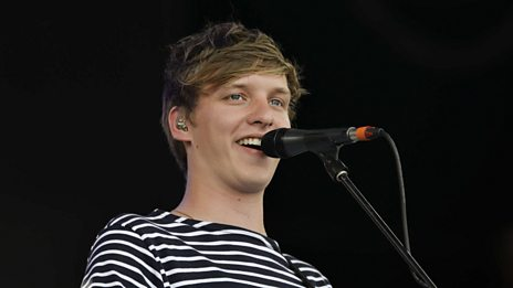 George Ezra joins Annie Mac on the BBC Introducing stage at Glastonbury