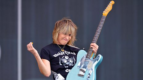 Glastonbury - The Pretenders