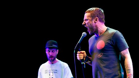 Glastonbury - Sleaford Mods