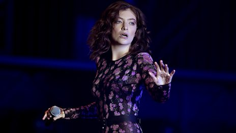 Glastonbury - Lorde