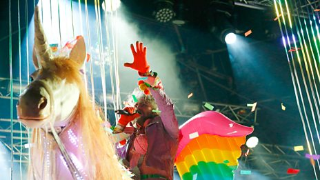 Glastonbury - The Flaming Lips