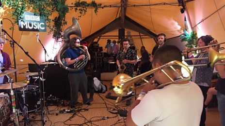 Hackney Colliery Band - Gather Your Wits + Bread And Circuses + Prodigy Medley: Jericho / Out Of Space / No Good