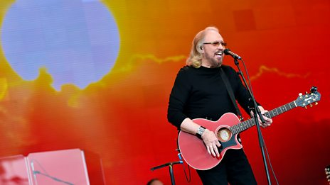 Glastonbury - Barry Gibb
