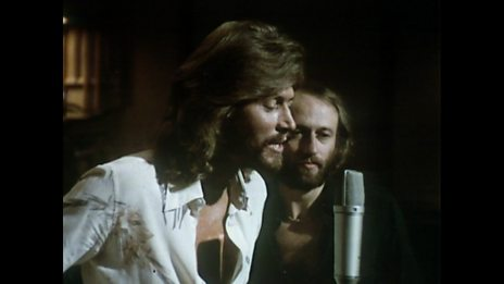 Barry Gibb at Glastonbury