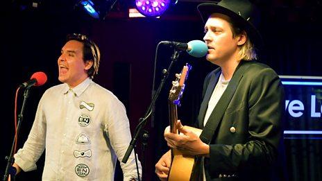 Live Lounge - Arcade Fire