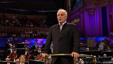 "Barenboim's speech and ""Land of Hope and Glory"" excerpt (Prom 4)"
