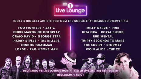 Live Lounge Month 2017 mash up!