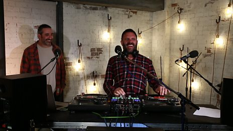 Watch DJ Yoda teach Shaun Keaveny some DJ'in skills!