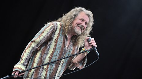 6 Music Breakfast's World Exclusive interview with Robert Plant