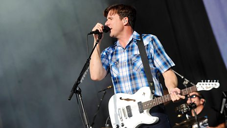 Highlights of Jimmy Eat World at Reading + Leeds 2017