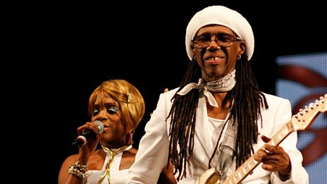 Nile Rodgers chats to Mary Anne Hobbs