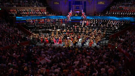 Hornpipe from Fantasia on British Sea Songs (Last Night of the Proms)