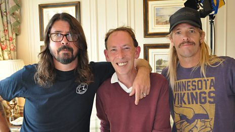 Foo Fighters talk to Steve about their new album 'Concrete and Gold'
