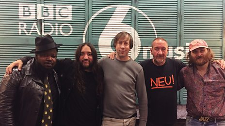 Once and Future Band live in session for Marc Riley