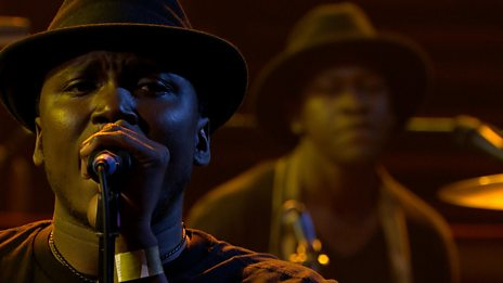 Songhoy Blues - Bamako  - Later 25 live at the Royal Albert Hall