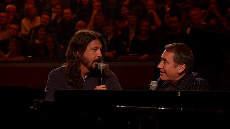 Dave Grohl talks to Jools Holland - Later 25 live at the Royal Albert Hall