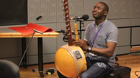 Listen to Sefo Kanuteh in session for World on 3
