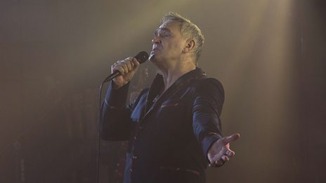 Morrissey at 6 Music Live in 30 Seconds